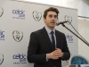 Bernard Brogan speaking at the announcement of the expansion to Celtic Pure. ©Rory Geary/The Northern Standard