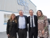 Celtic Pure CEO Padraig McEneaney with his wife Pauline and daughter Sinead and Martin O'Neill, Rep of Ireland manager, at the announcement of the expansion to the plant. ©Rory Geary/The Northern Standard