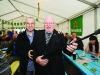 Laurence and Gerry McCabe at the marquee at The Westenra Hotel. ©Rory Geary/The Northern Standard