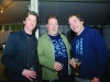 Seamie McManus, Harry Cleary and Ernie Hamill at the marquee. ©Rory Geary/The Northern Standard