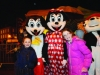 Mickey and Mini-Mouse at the Monaghan Town Christmas Lights Switch-On with Amy and Lisa Marie Kearns. ©Rory Geary/The Northern Standard