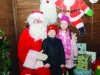 Santa with Rachel and Sean McEntee at the Monaghan Town Christmas Lights Switch-On. ©Rory Geary/The Northern Standard
