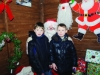 James and John Mullen with Santa at the Monaghan Town Christmas Lights Switch-On. ©Rory Geary/The Northern Standard