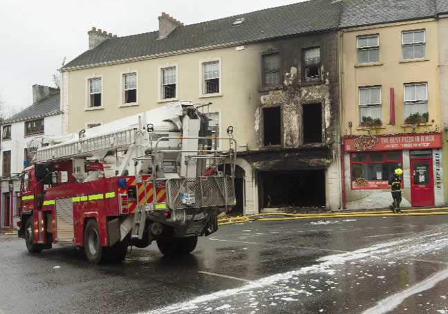 Northern Standard Blog Archive Home D Cor Business Badly Damaged In Fire