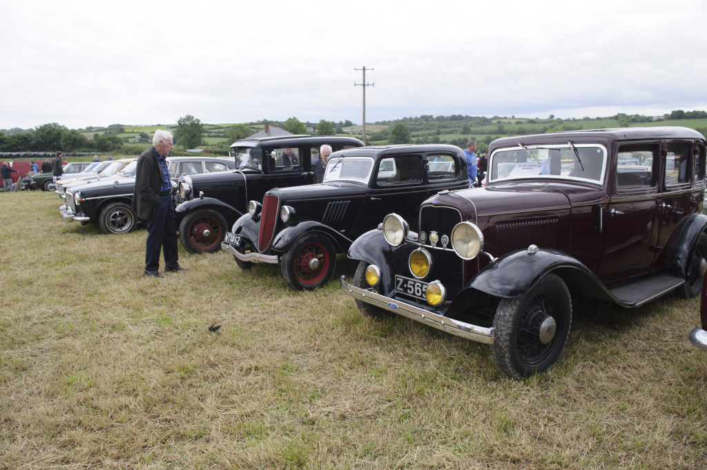 Some of the vintage cars on display. ©Rory Geary/The Northern Standard